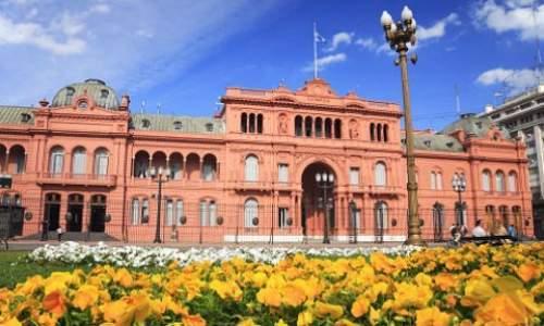 Pontos turísticos em Buenos Aires - Argentina - CASA ROSADA