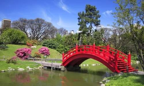 Pontos turísticos em Buenos Aires - Argentina - JARDIM JAPONÊS
