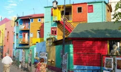 Pontos turísticos em Buenos Aires - Argentina - LA BOCA