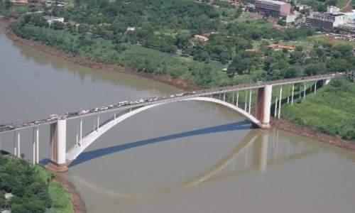 Pontos Turísticos no Paraguai - ponte da amizade