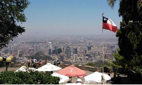 Santiago do Chile - Cerro San Cristóbal
