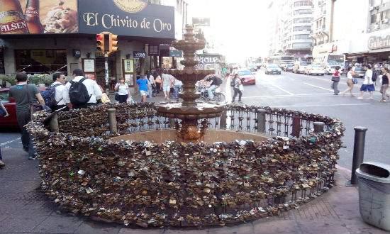O que fazer em Montevidéu - Fuente de los Candados