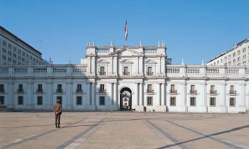 Santiago do Chile - Palácio de la Moneda
