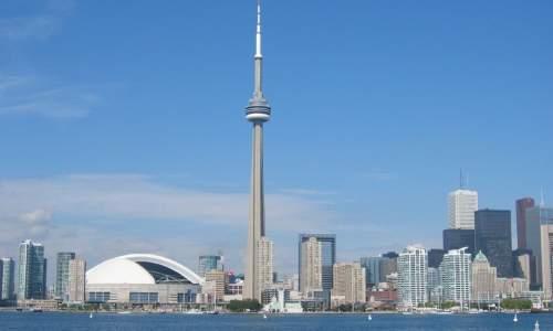 Os maiores paises do mundo - Torre CN - Canadá