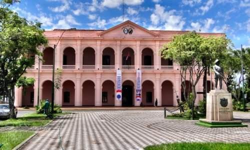 Pontos Turísticos em Assunção - Paraguai - centro cultural da republica assuncao
