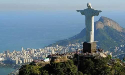 Os maiores paises do mundo - cristo redentor - brasil