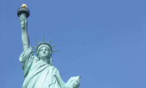 Os maiores paises do mundo - estatua da liberdade - EUA