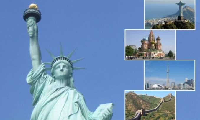 mais famosos pontos turisticos do mundo
