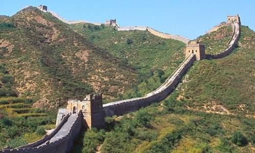 Os maiores paises do mundo - muralha da china