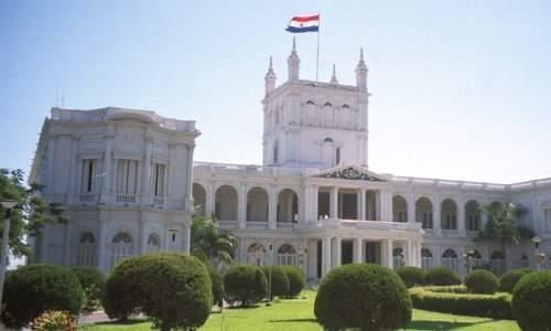Pontos Turísticos em Assunção - Paraguai - palacio do governo em assuncao