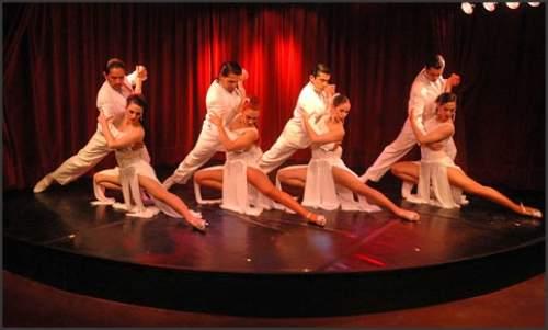 Show de Tango em Buenos Aires - rojo Tango