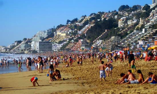 Viña Del Mar destino de Verão no Chile - Reñaca