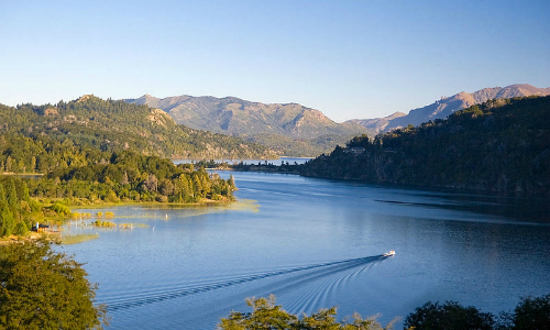 O que fazer em Bariloche - Lago Nahuel Huapi vista do Hotel Llao Llao