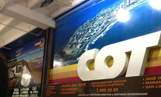 Como ir de Montevidéu a Punta del Este de ônibus