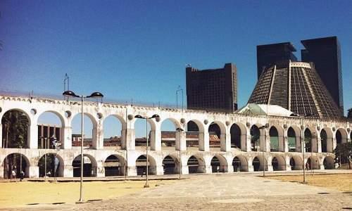 Pontos Turísticos no Rio de Janeiro - Arcos da Lapa