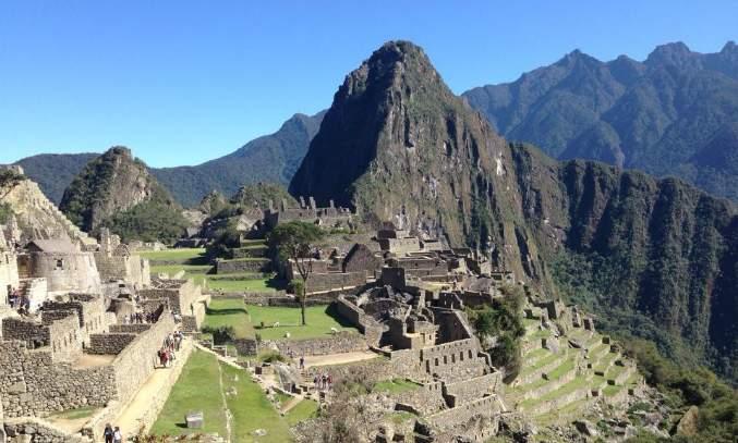 Enigmática Machu Picchu - capa
