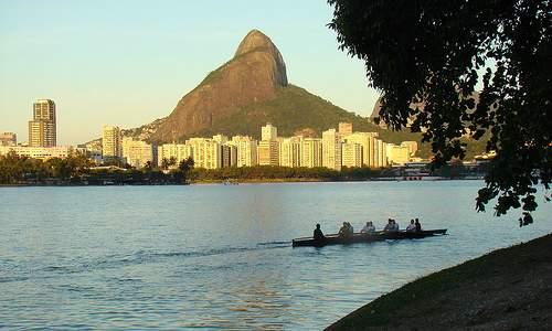 Pontos Turísticos no Rio de Janeiro - Lagoa Rodrigo de Freitas
