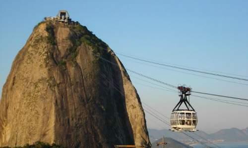 Pontos Turísticos no Rio de Janeiro - Pão de Açúcar bondinho
