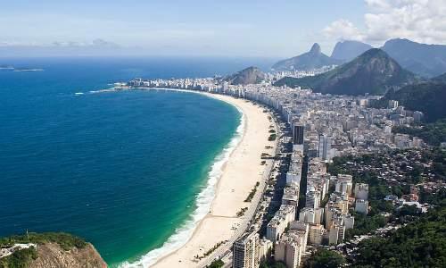 Pontos Turísticos no Rio de Janeiro - Praia de Copacabana