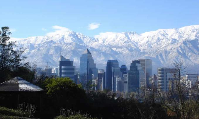 Chile Clima: Quando ir no Chile: Santiago_do_Chile