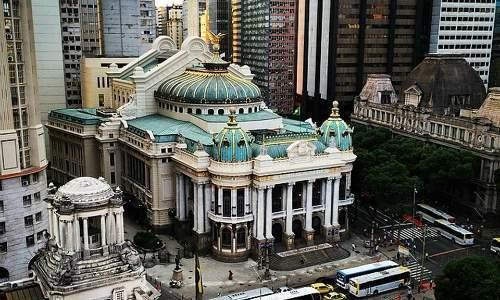 Pontos Turísticos no Rio de Janeiro - Teatro Municipal do Rio de Janeiro