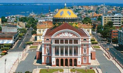 Pontos Turísticos de Manaus - Teatro Amazonas