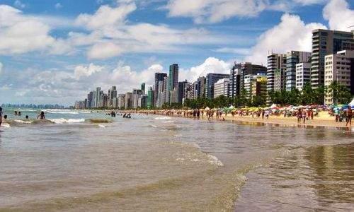 Pontos turísticos de Recife - praia de boa viagem recife