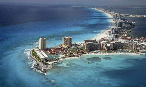 Pontos turísticos no México - Cancun