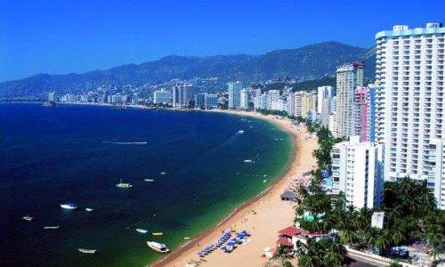 Pontos turísticos no México - acapulco