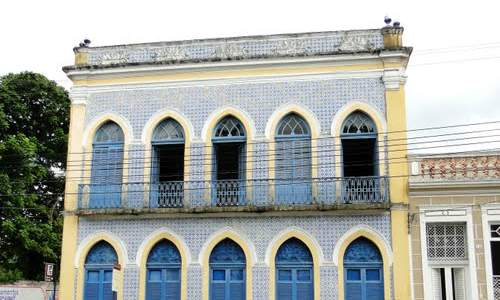 Pontos turísticos de João Pessoa - casa azulejo