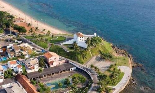 Pontos Turísticos de Salvador  - fort mont serrat
