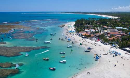 10 Lugares para viajar na lua de mel - porto-de-galinhas praia