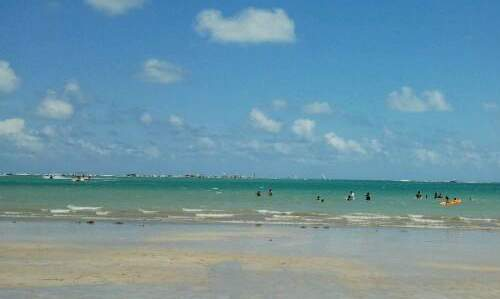 Pontos turísticos de João Pessoa - praia camboinha