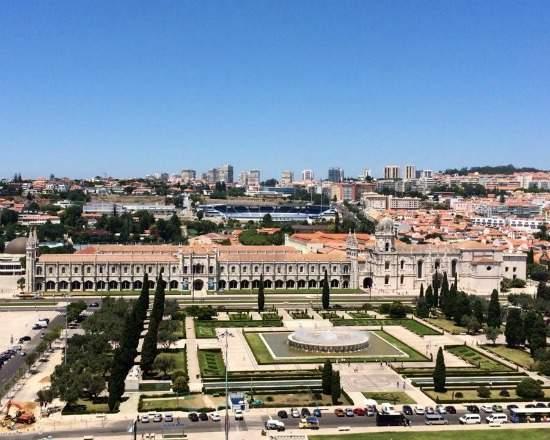 Padrão dos Descobrimentos , Belém - Lisboa mosteiro