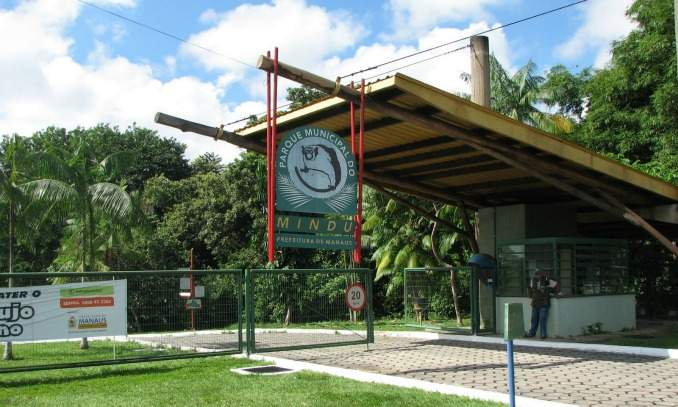 Parque Municipal Mindú, Manaus 02 - Copia