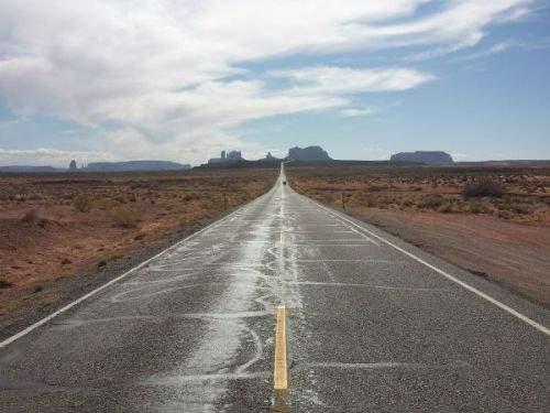 Road 163, em Utah – Estados Unidos