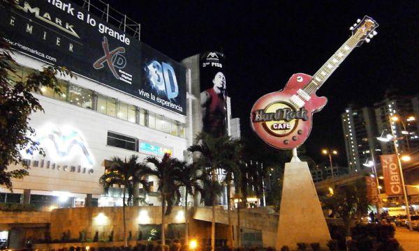 Pontos Turísticos do Panamá - Hard Rock Cafe Panama