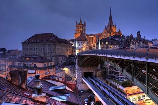 Lausana, Suíça - 10 cidades com o custo de vida mais caras do mundo