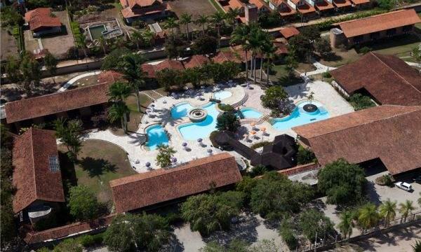 vista aerea do hotel casa grande de gravata