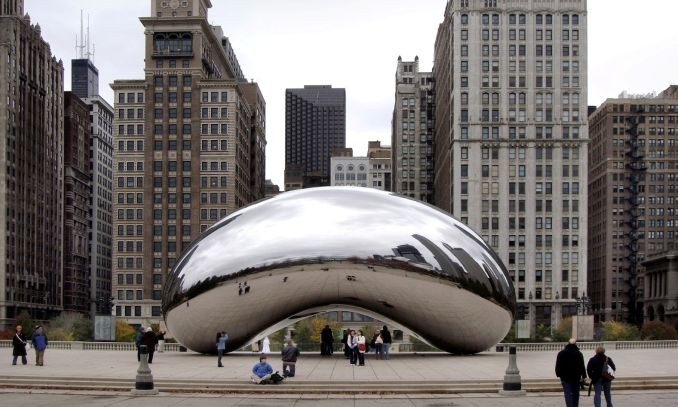 Cloud Gate exelente ponto turistico de chicago