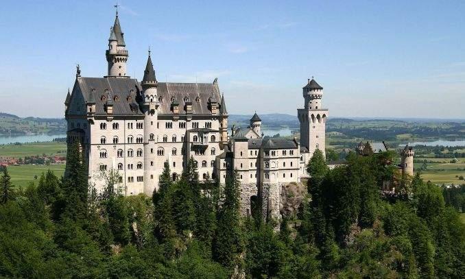 Castelo Neuschwanstein em munique
