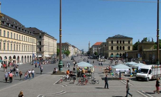 Odeonsplatz - Copia