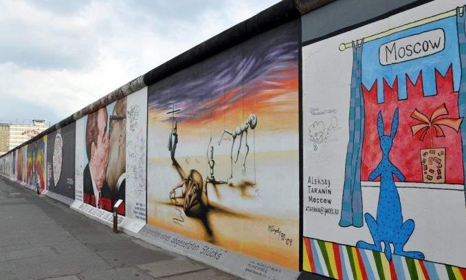 eastsidegallery - muro de berlim arte 01