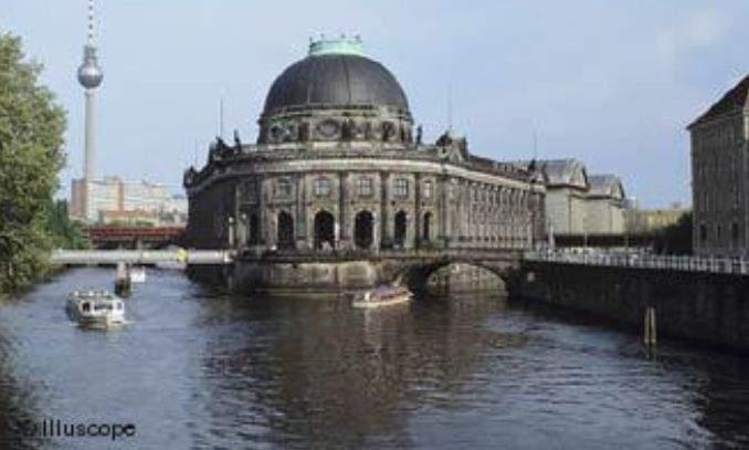 ilha dos museus em berlim alemanha