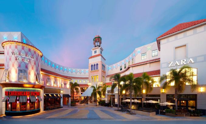Ponto turísticos em Miami - Aventura Mall Shopping