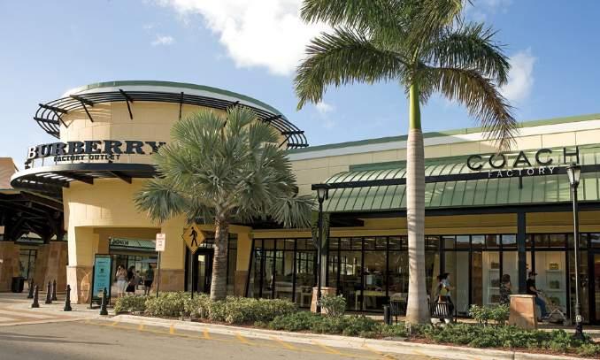 Pontos turísticos em Miami - Sawgrass Mills