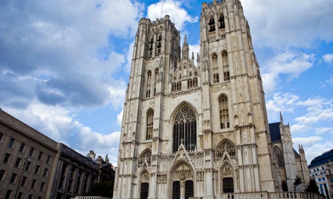 Catedral de St. Michaels - Pontos Turísticos em Bruxelas - Bélgica