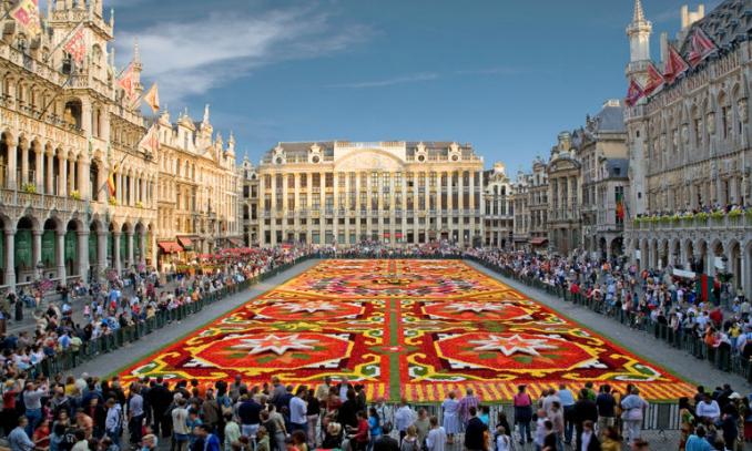Grand Place - Pontos Turísticos em Bruxelas - Bélgica