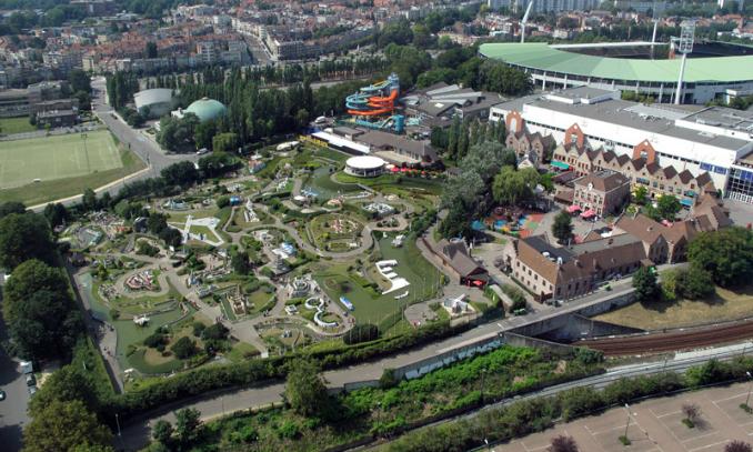 Mini Europa - Pontos Turísticos em Bruxelas - Bélgica