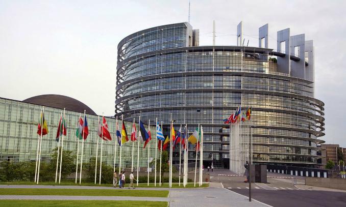 Parlamento Europeu - Pontos Turísticos em Bruxelas - Bélgica